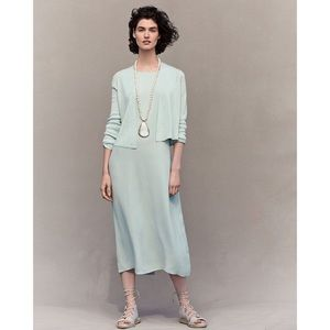 Eileen Fisher dress bateau Neck dress